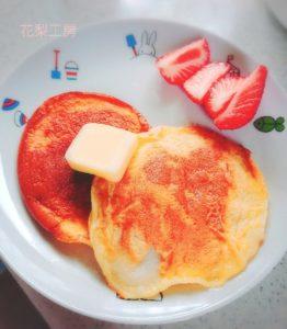 ふわふわパンケーキ 作り方
