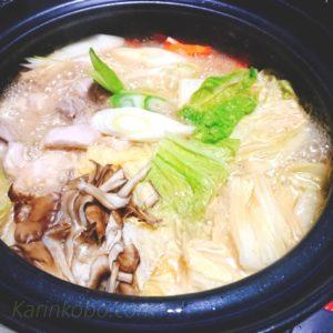 まつや とり野菜みそ鍋スープ